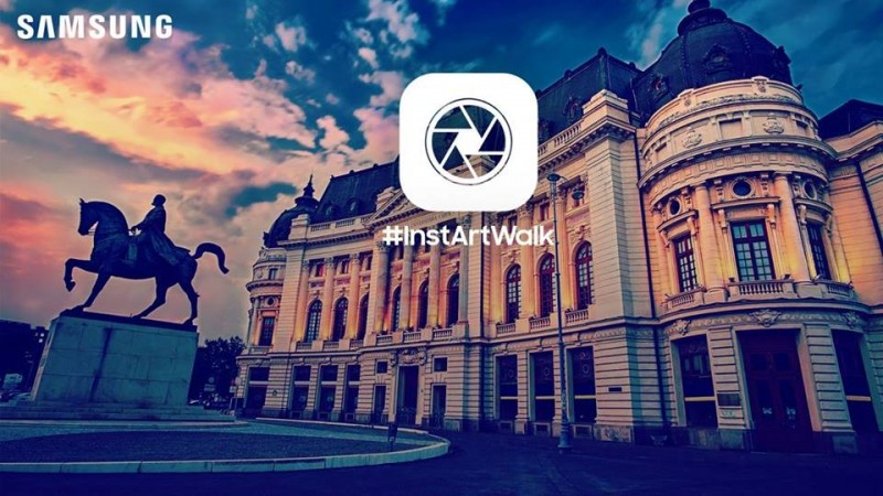 Samsung Electronics Romania realizeaza primul Instawalk dedicat consumatorilor