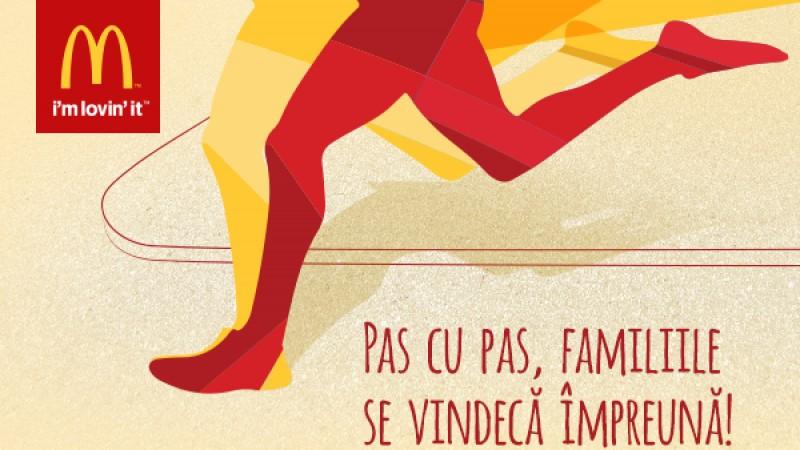 Fundatia pentru Copii Ronald McDonald participa pe 9 octombrie la Raiffeisen Bank Bucharest Marathon