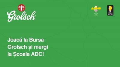 Grolsch oferă o bursă pentru Școala ADC*RO 2016