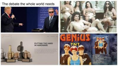 [Știri de nicăieri] Ce i-ar spune Vadim lui Trump, Photoshopul muzicii românești și premii la îndemână