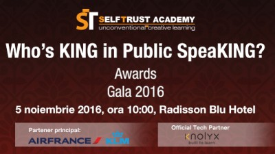 Who`s King in Public SpeaKING? Awards Gala 2016