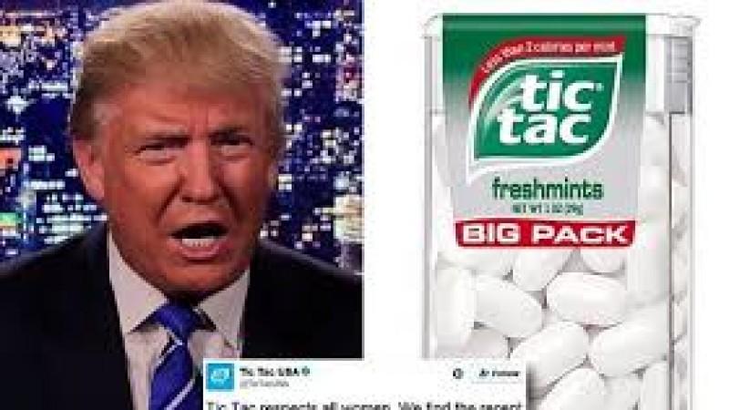 Culmea politicii: Donald Trump a enervat până și brandurile de bomboane