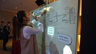 Doodle Magic Board a starnit imaginatia brandurilor in 2016