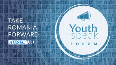 Fă-ți vocea auzită pe 1 noiembrie, la YouthSpeak Forum!