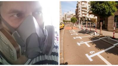 """Radu Boeru, artistul care a zapacit Bucurestiul cu parcarile lui improvizate, e si fost publicitar: """"Am inventat un nou termen, dezinstalatie artistica"""""""