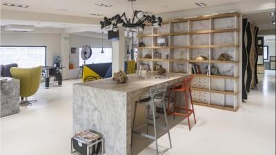 PIATRAONLINE - noua identitate vizuala: de la cea mai pretioasa resursa naturala, pamantul, pana la cel mai mare magazin online si showroom de piatra naturala din Romania