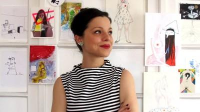 Elvira Lupsa a abandonat studiile business de amorul artei