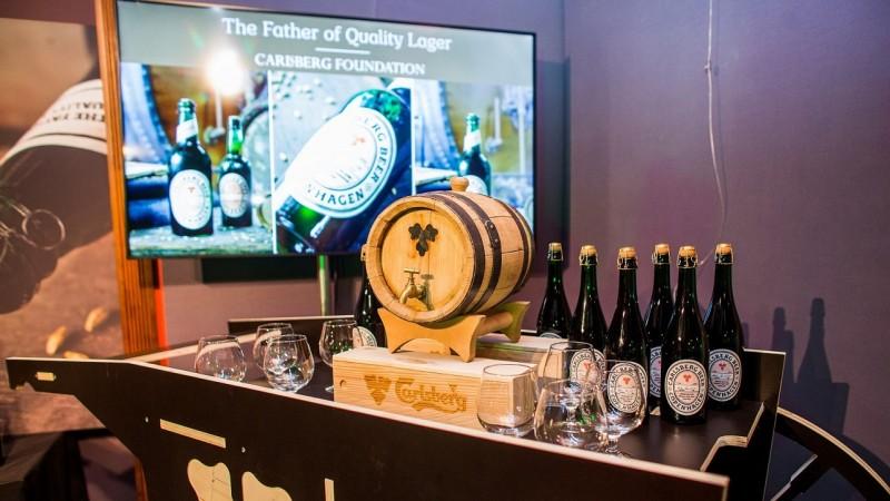 Carlsberg a recreat prima bere lager de calitate, folosind drojdia pura, care a revolutionat in 1883 industria mondiala a berii