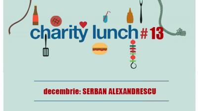 Prânz caritabil cu o personalitate #13 | GUSTURILE seDUC. FAPTELE RĂMÂN