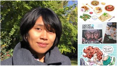 Viata de freelancer pentru Tuan Nini - ilustratie intr-un continuu caveman syndrome