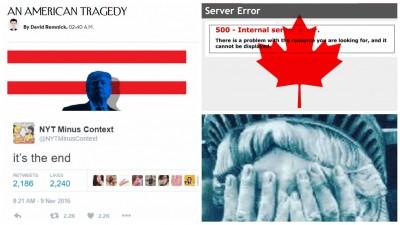 Internetul îl întâmpină pe președintele Trump. Sau cum se spune sfârșitul lumii în emoticoane și meme-uri