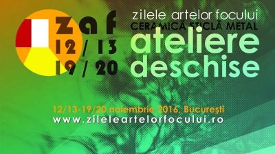 Ediția a 2-a, Zilele Artelor Focului - Ateliere Deschise de Ceramică, Sticlă, Metal