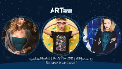 De sărbători, răsfață-te pe tine și restul planetei – cumpără cadouri originale și etice de la designeri și branduri locale | Art Fashion Fair - Holiday Market