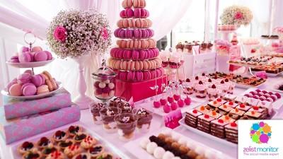Cele mai vizibile branduri de dulciuri in online si pe Facebook in luna octombrie 2016