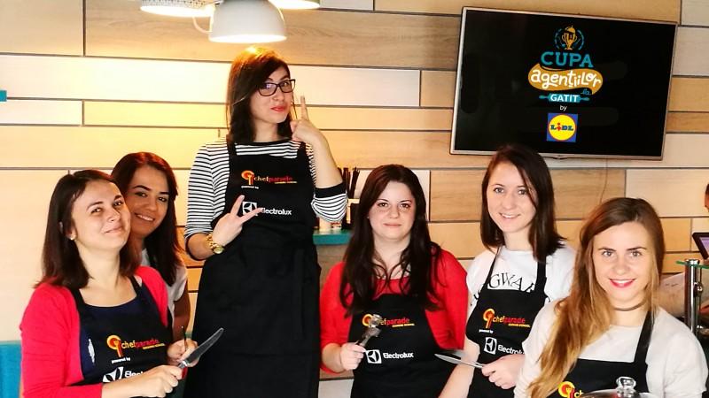 [Culinareala de agentie] Plutonul GOLin Farfurie inainteaza pe frontul Cupei Agentiilor la Gatit by Lidl
