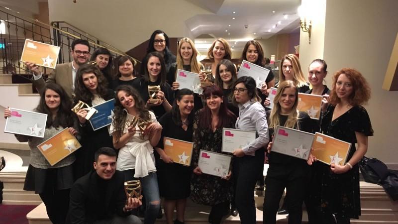 Campania Golin de comunicare a turneului Vanilla Skype, susținut de BRD, a fost desemnată Campania Anului la Romanian PR Award