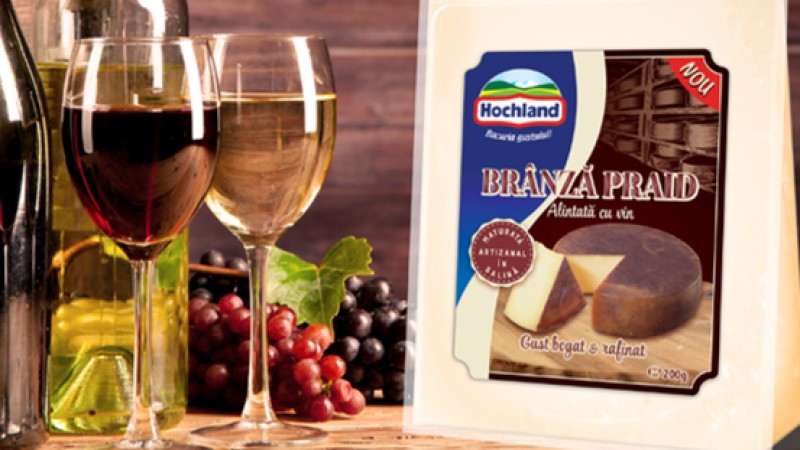 Hochland introduce pe piata Branza Praid, o reteta nobila cu gust rafinat
