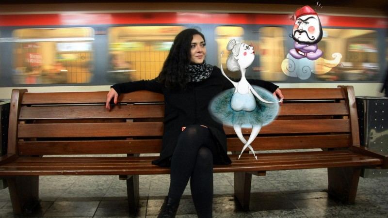Preferatele Anei-Maria Caizerliu? Briefurile care o ajuta sa reinvete desenul
