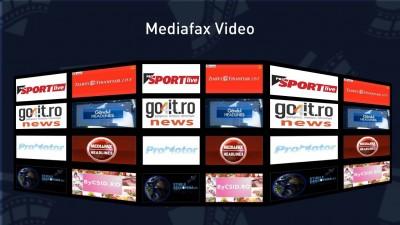Mediafax Group lanseaza 13 programe video - 20 de ore de continut video nou, original, in fiecare saptamana