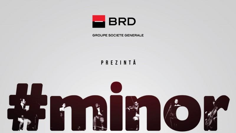 Discutie deschisa in sala de teatru despre educatia in familie:Spectacolul #minor este adus la Bucuresti, in cadrul unui turneu sustinut de BRD - Groupe Société Générale