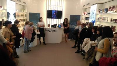 Specialistii Gerovital au organizat workshop-ul Gerovital Tratament Expert alaturi de vedeta Claudia Pavel