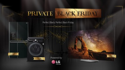 Cel mai negru Black Friday, de la LG si INTERACTIONS