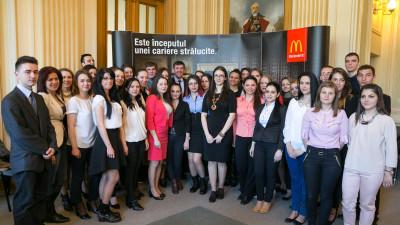 Angajatorul Anului: McDonald's a angajat peste 1.000 de persoane in 2016