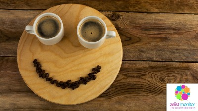 Cele mai vizibile branduri de cafea in online si pe Facebook in luna noiembrie 2016