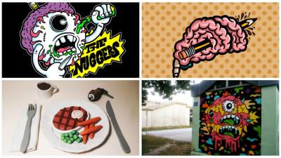 Graffiti, ilustratie, muzica si animatie. Andy 'Sinboy' Luke in 4 acte
