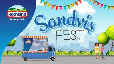 Hochland si Minio Studio au scos sandvisul din rutina, cu Sandvisfest