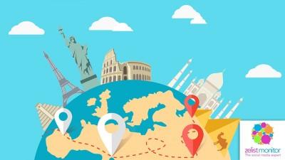 Cele mai vizibile branduri de turism in online si pe Facebook in luna noiembrie 2016