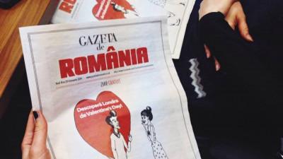 [Diaspora Times] Publisheri români în UK. Tudor Cutus (Gazeta de România): Apărem la Londra, o dată pe lună, în 5.000 de exemplare