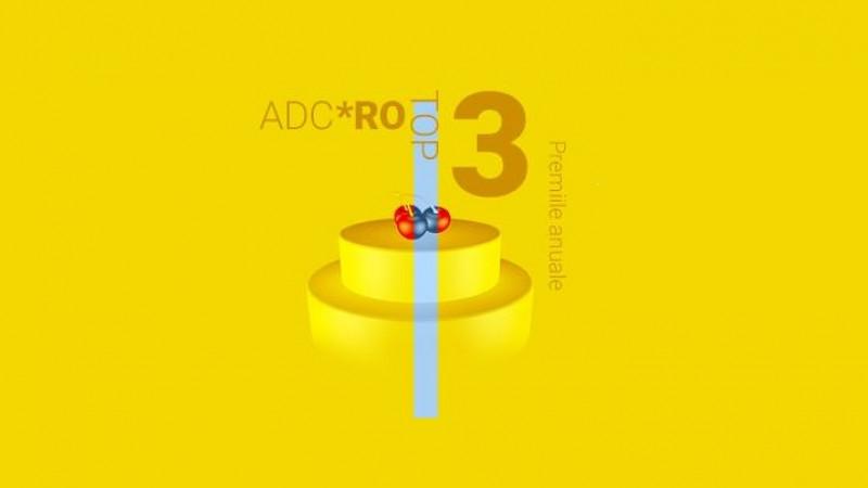 Ideea, Clientul si Echipa Anului 2016, desemnate in cadrul Premiilor Anuale Top 3 ADC*RO din aceasta seara