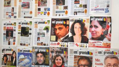 """[Diaspora Times] """"Emigrantul"""" bilunar din Italia împlinește 4 ani. Cristi Merchea: Atât ediția tipărită, cât și online-ul sunt finanțate din publicitate"""