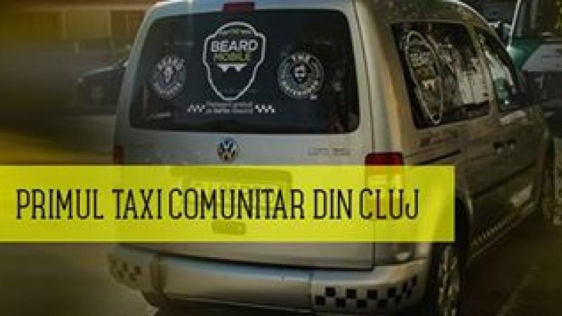Taxiul cu barbă ajută oamenii în nevoie