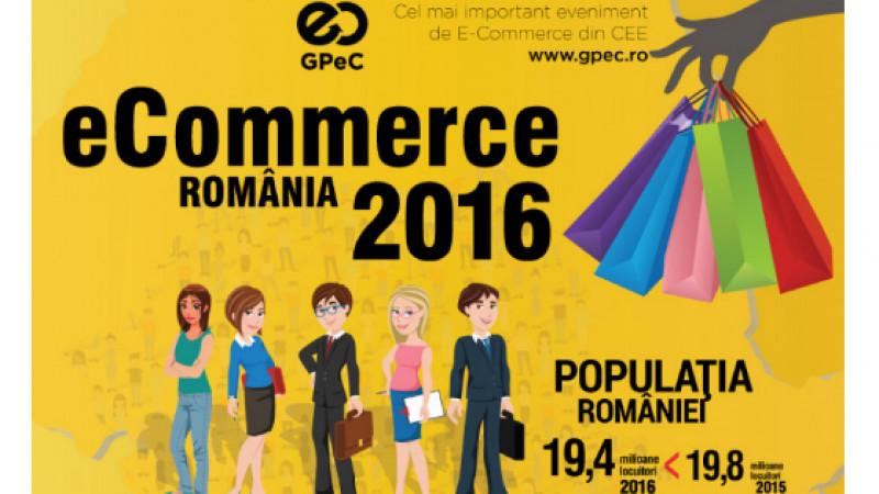 Bilanțul pieței de e-commerce 2016: Românii au cumpărat online de peste 1,8 miliarde de euro