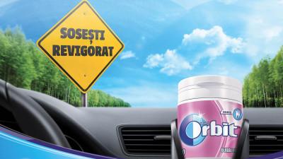 """Mărcile de gumă de mestecat fără zahăr lansează prima campanie integrată """"Sosești revigorat"""" care se adresează șoferilor români"""