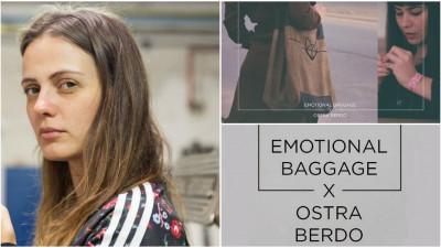 Emotional baggage purtat sub formă de genți