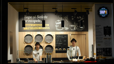 Soup Up! deschide un soup bar premium in ParkLake Shopping Center