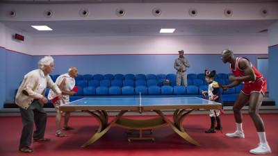 O partidă de Ping Pong cu adevărat istorică