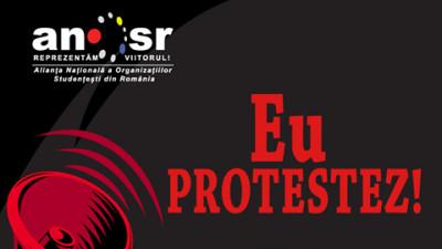 Două asociații studențești, un mesaj comun: #NUCorupției
