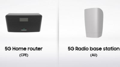 Samsung anunta portofoliul complet de produse si solutii comerciale 5G