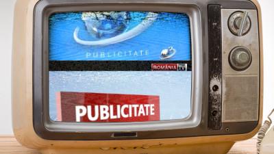 Publicitatea TV difuzata de statiile de stiri in ultimele 4 saptamani. Antena 3 si Romania TV au avut scaderi puternice, B1 variatii mici, Realitatea TV si Digi 24 cresteri de 40%