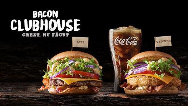 După succesul din 2016, Bacon Clubhouse revine la McDonald's