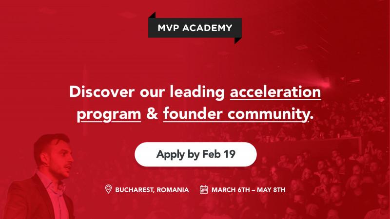 Servicii în valoare de peste 1M$ pentru startup-urile acceptate în acceleratorul MVP Academy