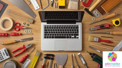 Cele mai vizibile branduri de bricolaj/mobila in online si pe Facebook in luna ianuarie 2017