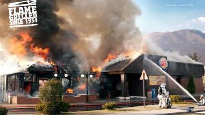 Aceste restaurante sunt adevarate si chiar au luat foc