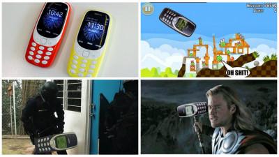 Nokia 3310 revine. Si-odata cu el, glumele