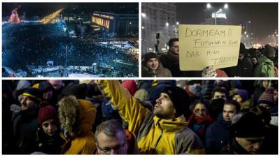 De azi-noapte și până azi. Ordonațe-n miez de noapte, frig și proteste-n toată țara