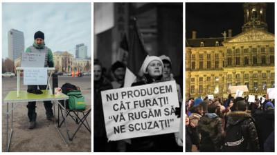 Multimile #OUGprotest: de la Amsterdam in Praga si din Cluj pana-n Buzau
